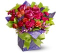 Teleflora's Party Time Present in Warwick RI Yard Works Floral, Gift & Garden