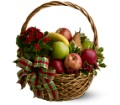 Holiday Fruit Basket in Sayville NY Sayville Flowers Inc