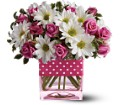 Teleflora's Polka Dots and Posies in Laurel MD Rainbow Florist & Delectables, Inc.