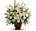 Teleflora's Sincere Serenity in Oklahoma City OK Array of Flowers & Gifts