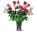 A Dozen Multi-Colored Roses in San Clemente CA Beach City Florist