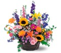 Summertime Sensation Basket in Laurel MD Rainbow Florist & Delectables, Inc.