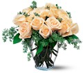 White Rose boquet by Petals & Stems in Dallas TX Petals & Stems Florist