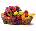 Plant and Fruit Basket in Bend OR All Occasion Flowers & Gifts