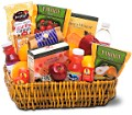 Healthy Gourmet Basket in Charlotte NC Wilmont Baskets & Blossoms
