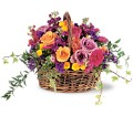 Garden Gathering Basket in San Francisco CA Fillmore Florist
