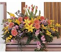Blooming Glory Casket Spray in St. Louis MO Walter Knoll Florist