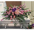 Triumphant Casket Spray in Naples FL Gene's 5th Ave Florist