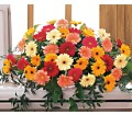Uplifting Thoughts Casket Spray in San Francisco CA Fillmore Florist