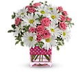 Teleflora's Polka Dots and Posies in Ellicott City MD The Flower Basket, Ltd