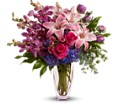Teleflora's Purple Perfection in Bethesda MD Bethesda Florist