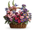 Country Basket Blooms in Pasadena CA The Flowerman