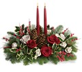 Christmas Wishes Centerpiece in Bakersfield CA White Oaks Florist