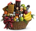 The Ultimate Christmas Basket in New York NY Fellan Florists Floral Galleria