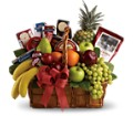 Bon Vivant Gourmet Basket in Oklahoma City OK Array of Flowers & Gifts