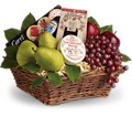 Delicious Delights Basket in Vermillion SD Willson Florist