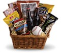 Take Me Out to the Ballgame Basket in New York NY Fellan Florists Floral Galleria