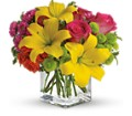 Teleflora's Sunsplash in Johnstown NY Studio Herbage Florist