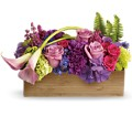 Teleflora's Ticket to Paradise in Warwick RI Yard Works Floral, Gift & Garden