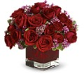 Never Let Go by Teleflora - 18 Red Roses in Naples FL Gene's 5th Ave Florist