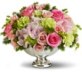 Teleflora's Garden Rhapsody Centerpiece in Reading PA Heck Bros Florist