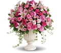 Passionate Pink Garden Arrangement in Fairfax VA Rose Florist