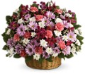 Rainbow Reflections Basket in Bottineau ND Turtle Mountain Floral & Gifts