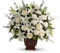 Teleflora's Loving Lilies and Roses Bouquet in Santa Monica CA Edelweiss Flower Boutique
