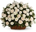 Bountiful Rose Basket in Saratoga Springs NY Dehn's Flowers & Greenhouses, Inc