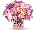 Teleflora's Possibly Pink in Boynton Beach FL Boynton Villager Florist