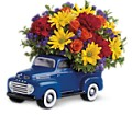 Teleflora's '48 Ford Pickup Bouquet in Warwick RI Yard Works Floral, Gift & Garden
