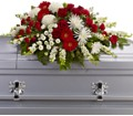 Strength and Wisdom Casket Spray in Washington, D.C. DC Caruso Florist