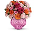 Teleflora's Sweet Fire Bouquet with Roses in Meadville PA Cobblestone Cottage and Gardens LLC