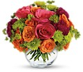 Teleflora's Smile for Me in Rochester NY Red Rose Florist & Gift Shop