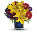 Teleflora's Blue Caribbean in Oklahoma City OK Array of Flowers & Gifts