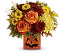 Teleflora's Halloween Glow in Amherst NY The Trillium's Courtyard Florist