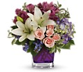 Teleflora's Garden Romance in Kingston NY Flowers by Maria
