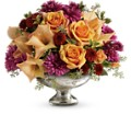 Teleflora's Elegant Traditions Centerpiece in Friendswood TX Lary's Florist & Designs LLC