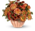 Teleflora's Joyful Hearth Bouquet in Bayonne NJ Blooms For You Floral Boutique