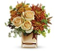 Teleflora's Autumn Romance Bouquet in Chico CA Flowers By Rachelle