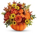 Teleflora's Warm Fall Wishes Bouquet in Homer NY Arnold's Florist & Greenhouses & Gifts