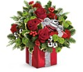 Teleflora's Gift Wrapped Bouquet in Chicagoland IL Amling's Flowerland