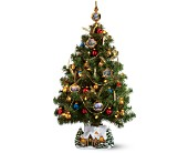 Teleflora's Thomas Kinkade Christmas Tree in New Britain CT, Weber's Nursery & Florist, Inc.