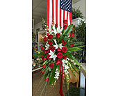ELEGANT SYMPATHY SPRAY in The Villages, Florida, The Villages Florist Inc.