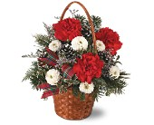 Teleflora's Very Merry Basket in Oshkosh WI, Hrnak's Flowers & Gifts