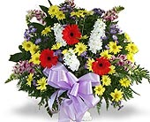 Funeral Basket of Flowers in Nashville TN, Flowers By Louis Hody