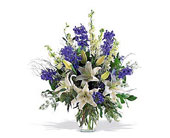 Blue and White Arrangement in McLean VA, MyFlorist