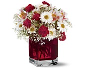 Teleflora's Scarlett Bouquet in Hartford CT, House of Flora Flower Market, LLC