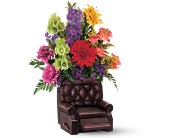 Teleflora's Barcalounger Bouquet in King of Prussia PA, King Of Prussia Flower Shop