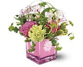 Teleflora's Spring Breeze Bouquet in Utica NY, Chester's Flower Shop And Greenhouses